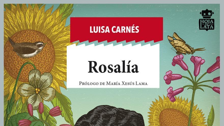 Portada del libro 'Rosalía'