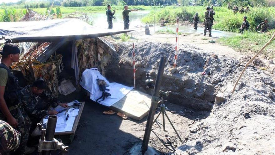 El ejército filipino toma una base del Grupo Maute tras matar a 36 yihadistas