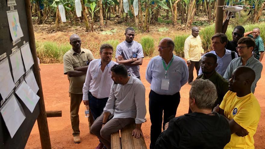 Representantes de Asprocan participan como invitados-observadores en las Jornadas de la Banana de África, Caribe y Pacífico celebradas esta semana en Costa de Marfil.
