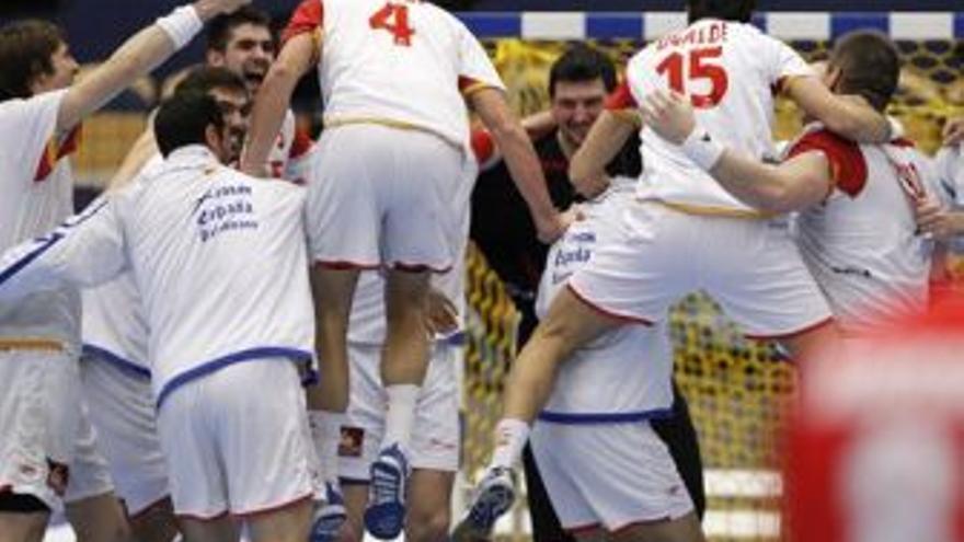 España avanza en el mundial de balonmano. (EUROPA PRESS)