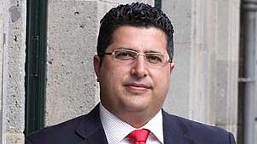 El presidente del PP de Granadilla de Abona, Esteban González.