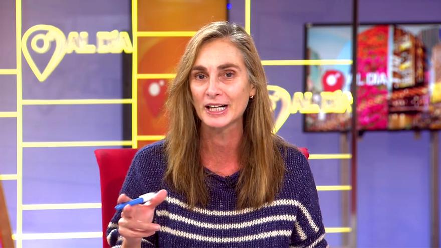 Marta Reyero, en 'Cuatro al día'