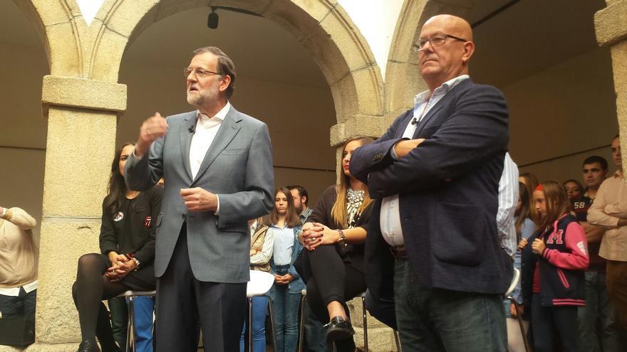 Rajoy en la localidad toledana de Mora
