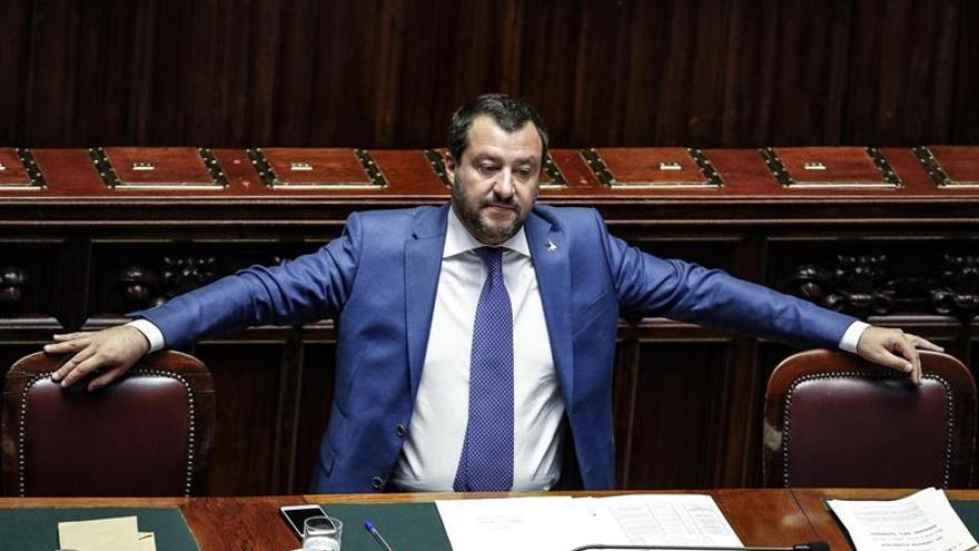 Salvini afirma que la UE arruinó a Italia y por ello no le importa su opinión