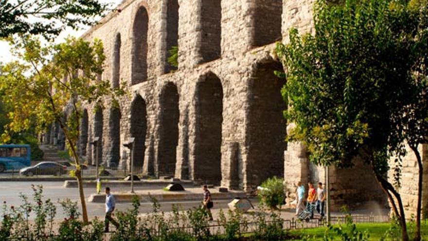 Acueducto de Valente, en Estambul.