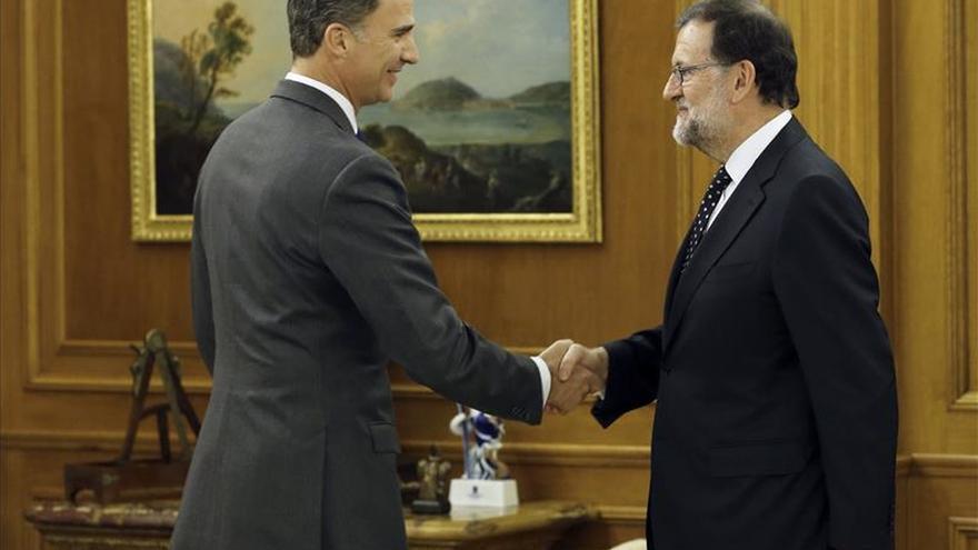 Rajoy declina la propuesta del Rey de someterse a la investidura