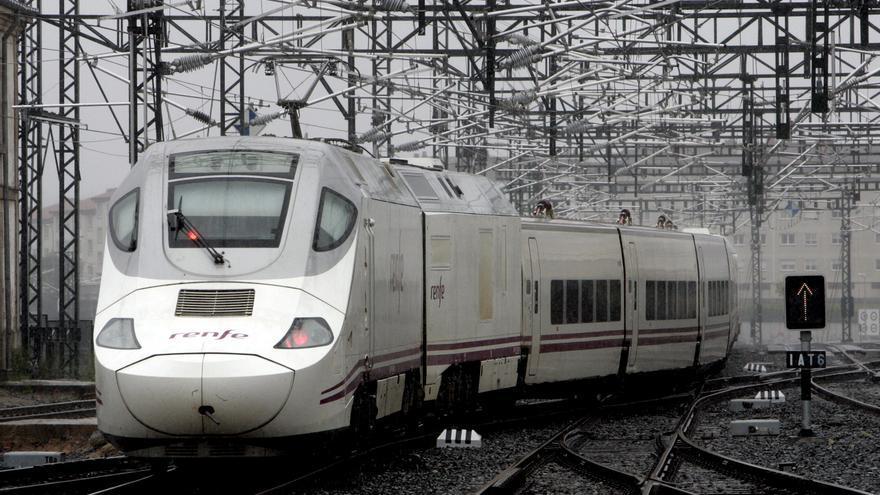 La empresa española Talgo presenta el Avril, su nuevo tren de alta velocidad y mayor capacidad