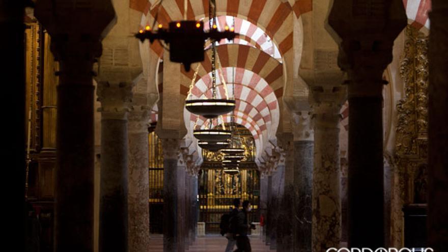 Interior de la Mezquita Catedral   MADERO CUBERO