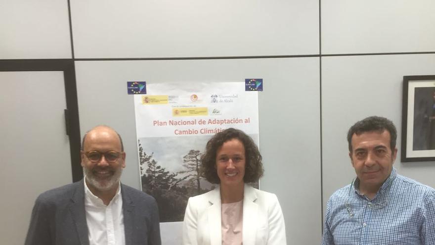 El compromiso de cooperación se alcanzó este jueves de la reunión mantenida por el consejero de Medio Ambiente del Cabildo, Juan Manuel Brito, y la directora general de la Oficina Española de Cambio Climático, Valvanera Ulargui.