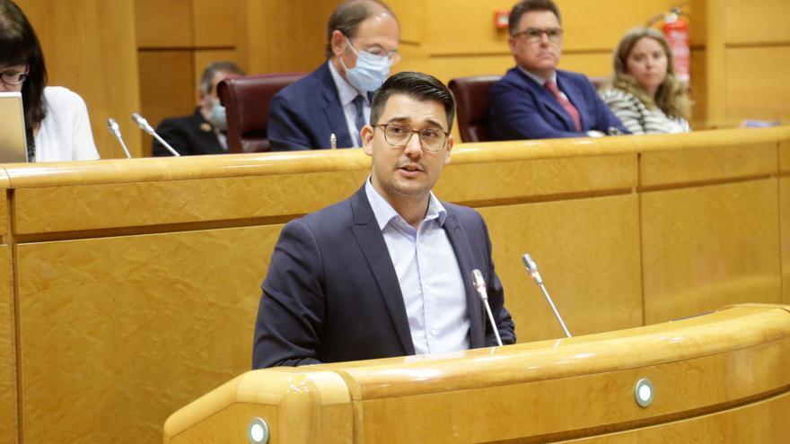 Fabián Chinea, de ASG, en el Senado