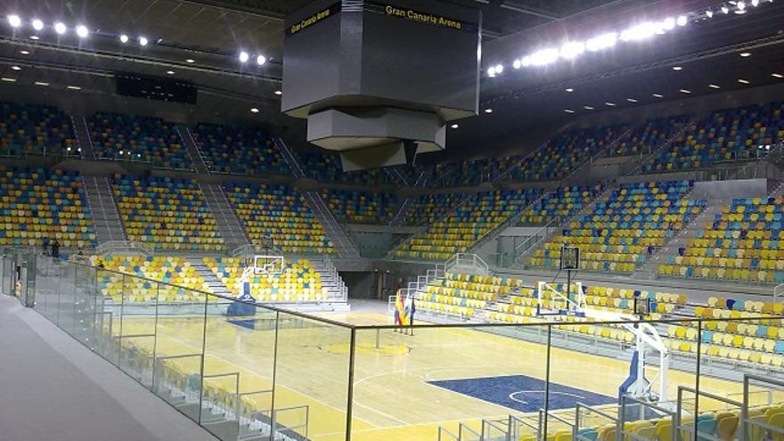 El Gran Canaria Arena, nuevo feudo del CB Gran Canaria.