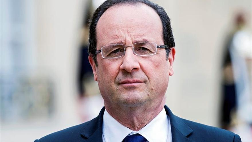 Un 82 % de los franceses aprueba la retirada de Hollande
