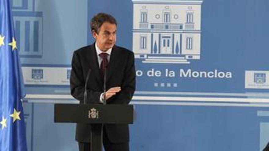 Presidente del Gobierno, José Luis Rodríguez Zapatero, presenta el Informe Econó