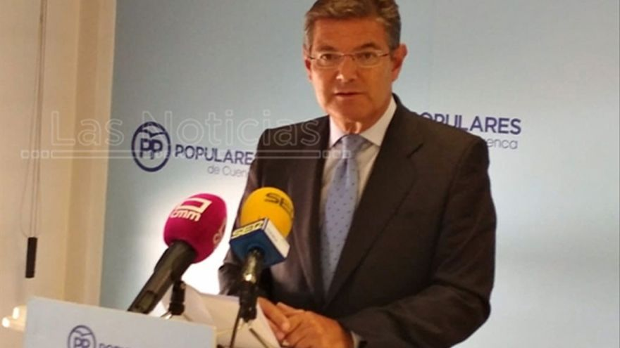 Rafael Catalá FOTO: Las Noticias de Cuenca