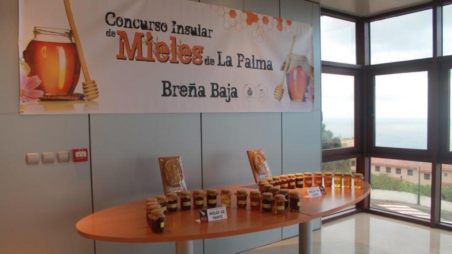 Imagen de archivo del Concurso de Mieles de La Palma.