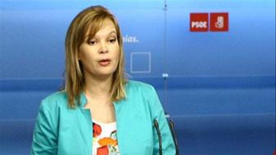 Pajín emplaza a Rajoy a desbloquear su escaño en el Senado antes de que se voten los Presupuestos