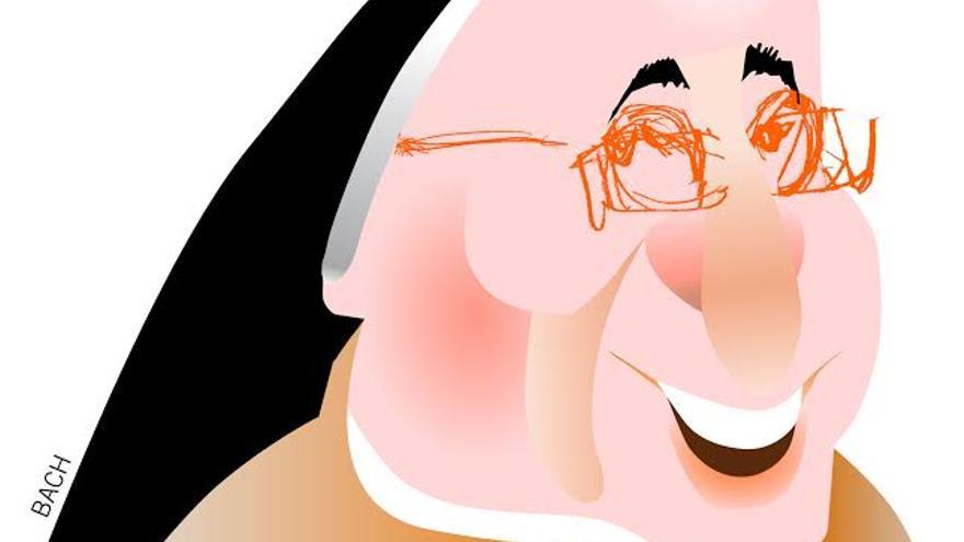 Sor Lucía Caram. (Ilustración: Jaume Bach)