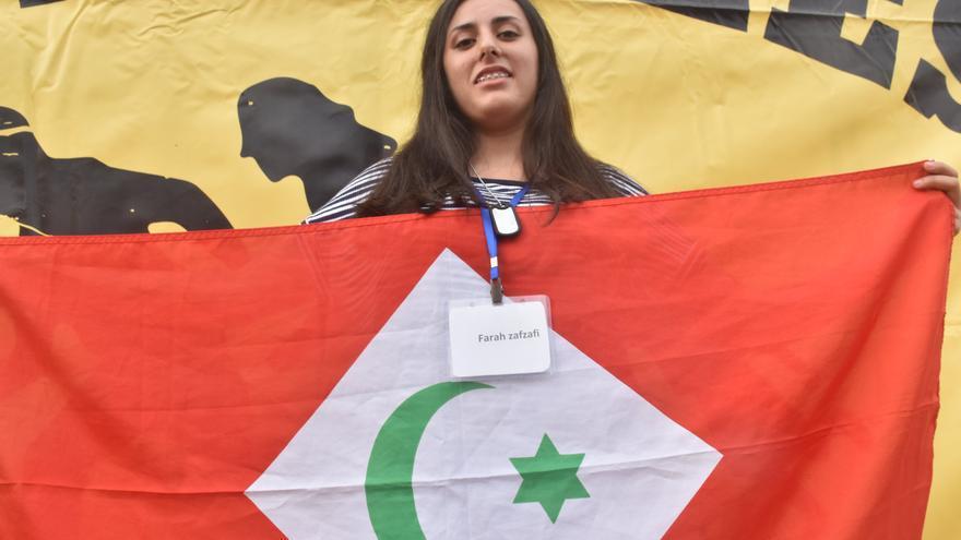 """Farah Saidi: """"Si esto se alarga no puedo aguantar porque muero por Alhucemas"""""""
