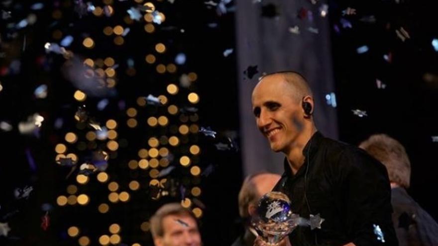 El mago canario Héctor Mancha ha ganado el Gran Premio en la categoría de magia escénica del Mundial de Magia.