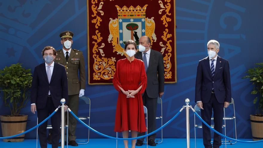 La reina Letizia homenajea a las mujeres de la Policía Municipal de Madrid