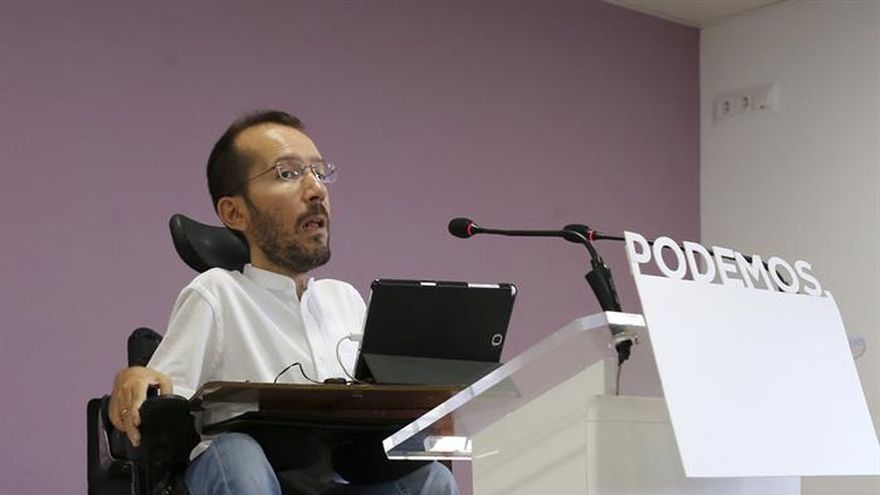"""Podemos insiste en que """"toca esperar a Rajoy"""" antes de cualquier iniciativa"""