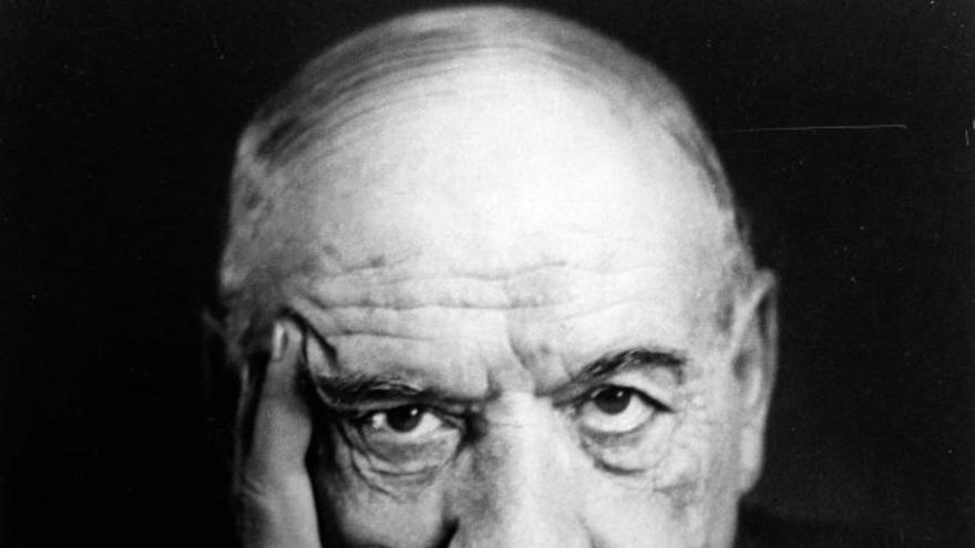 El filosófo Ortega y Gasset.