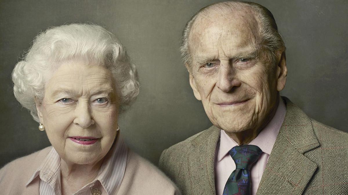 La reina Isabell II y el príncipe Felipe
