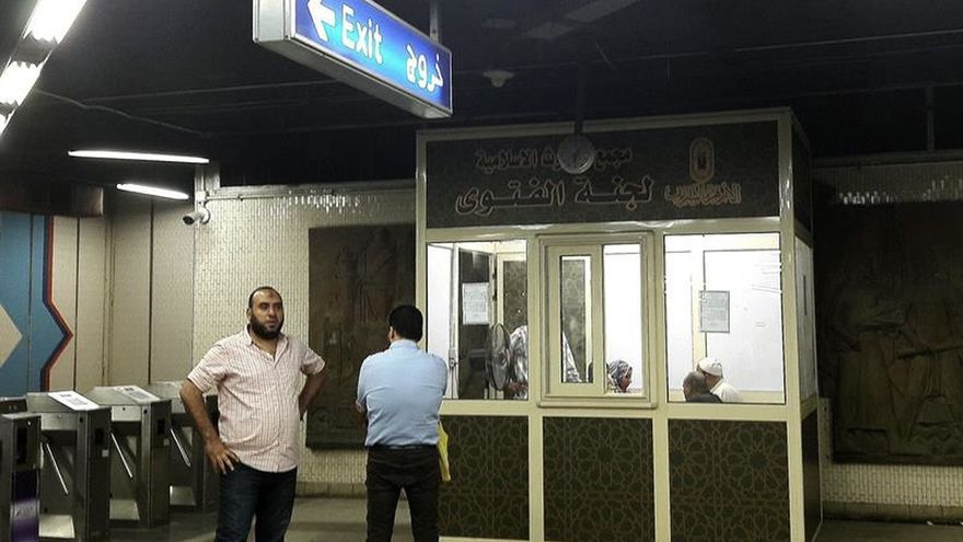 Consultas exprés sobre el islam en el metro de El Cairo