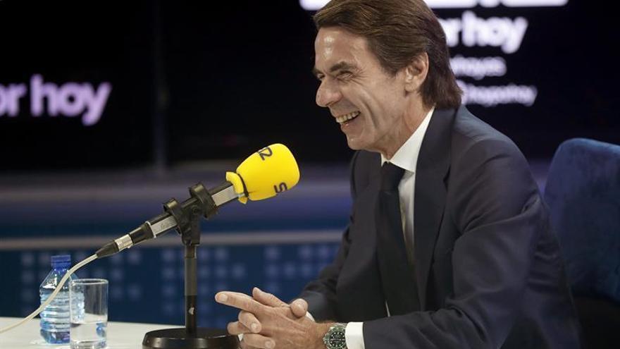 """Aznar dice que si ganan los independentistas será """"el imperio de la anarquía"""""""
