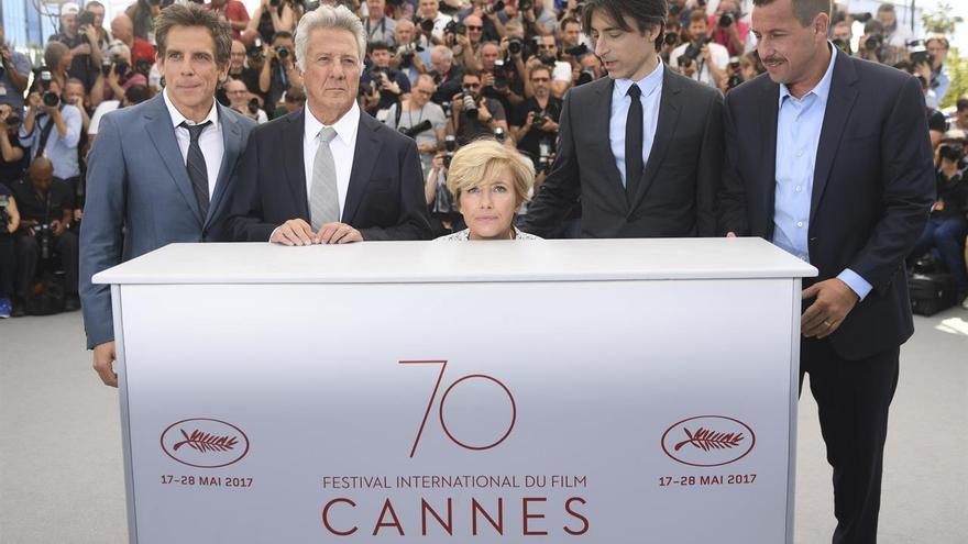 'The Meyerowitz Stories', dirigida por Noah Baumbach y financiada por Netflix, se presenta en Cannes 2017
