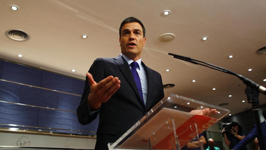 """Pedro Sánchez pide a la Gestora que no ahonde en la fractura con más ceses: """"Hagamos oposición al PP, no a nosotros"""""""