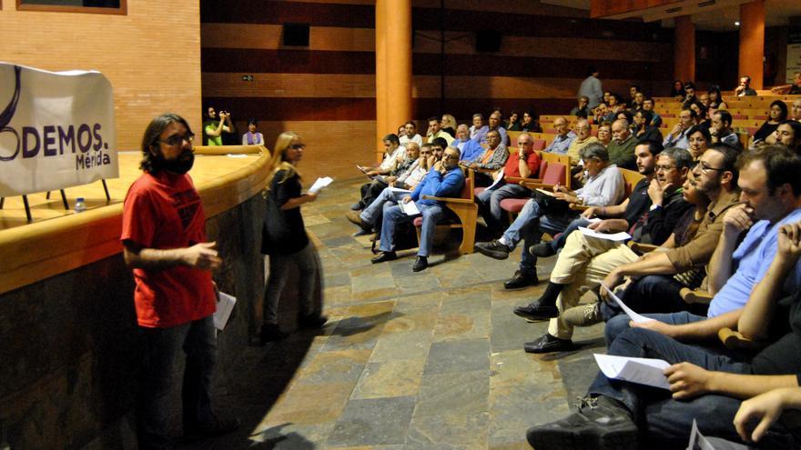 Asamblea local del Círculo de Podemos en Mérida