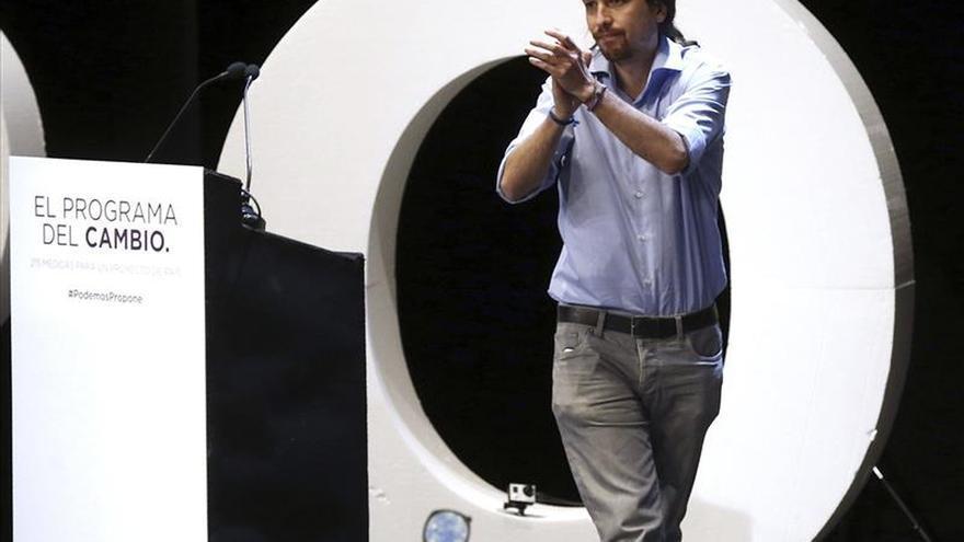 Pablo Iglesias (Podemos) se fija el objetivo de convencer a los indecisos