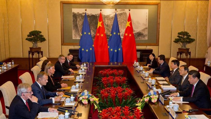 El déficit comercial de la UE con China alcanzó los 180.000 millones en 2015