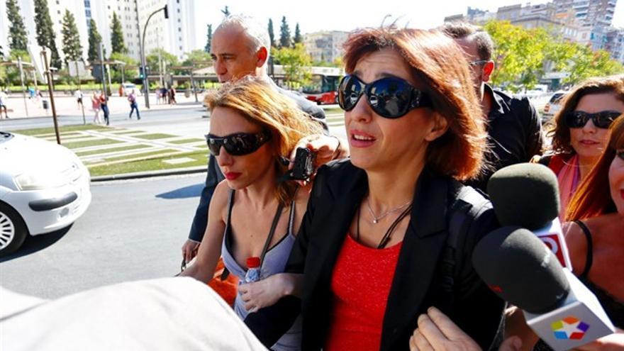 Juana Rivas entrando al juzgado | EP