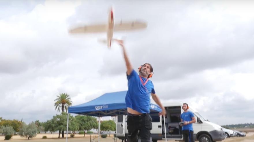 El dron que ha utilizado la red móvil 4G de Vodafone como radar para su control