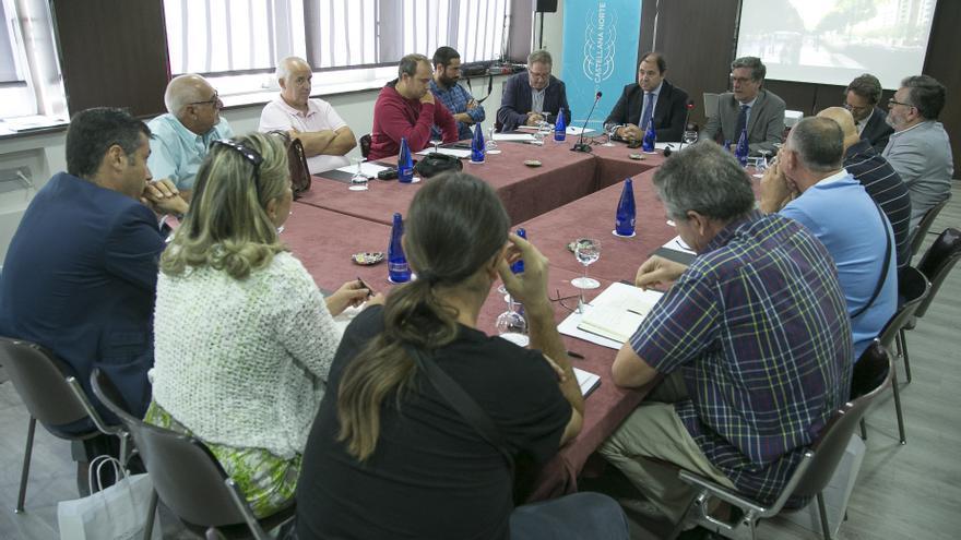 La mesa de diálogo del Distrito Castellana Norte. / DCNMadrid
