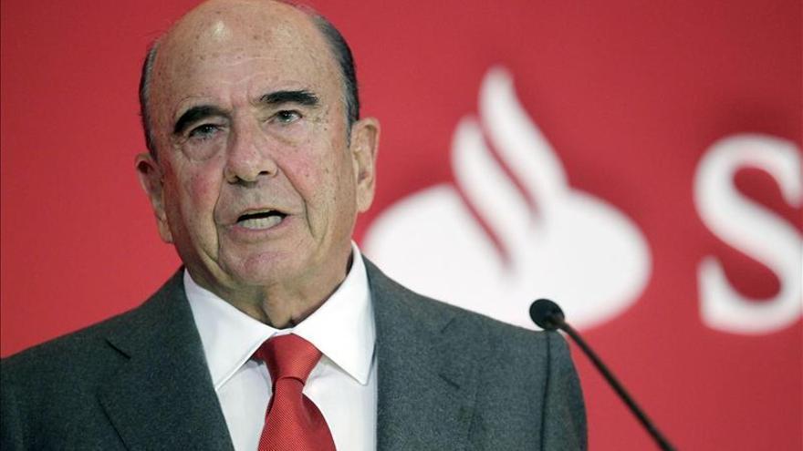 Emilio Botín pide que los cambios en la Ley Hipotecaria sean temporales