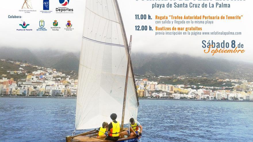 Cartel de la Jornada de Vela Latina.