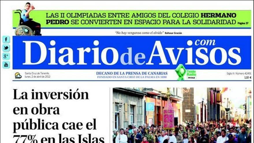De las portadas del día (02/04/2012) #2