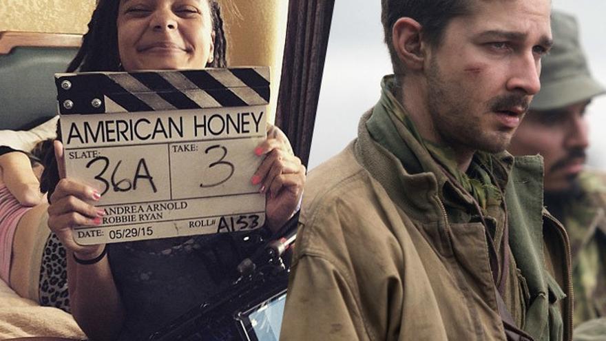 Sasha Lane y Shia LaBeouf en 'American Honey' de Andrea Arnold