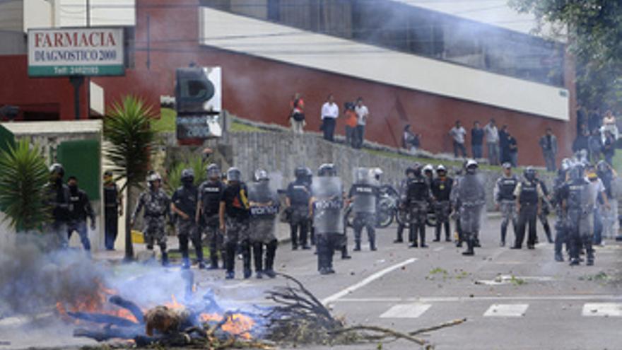 Incidentes durante el secuestro de Correa