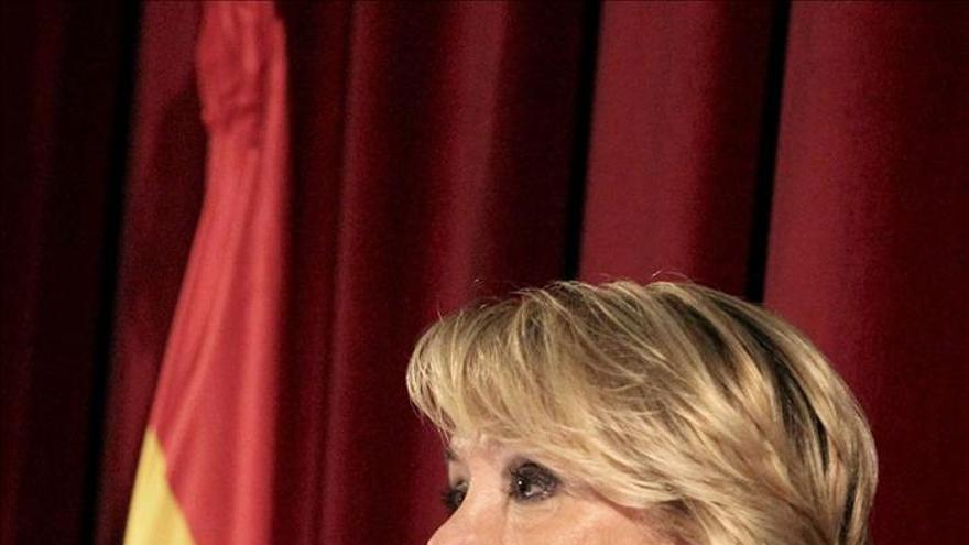 Aguirre no ve otra opción para Canal 9 y confía en que no pase igual con Telemadrid