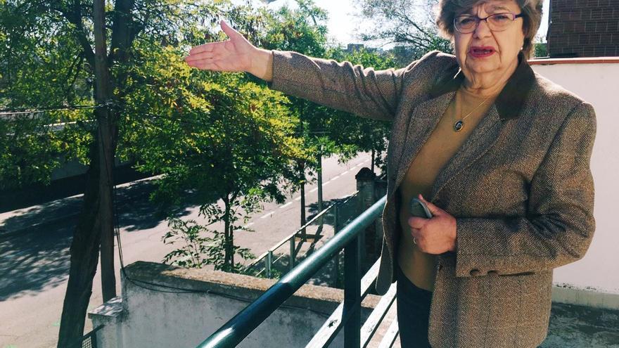 Margarita Botija, una de las pocas propietarias que vive en una casa dentro del perímetro de la Operación Chamartín