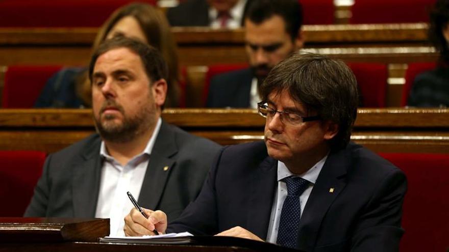 "Puigdemont compara a C's con cazadores de ""pokémons"" y reivindica a Urkullu"