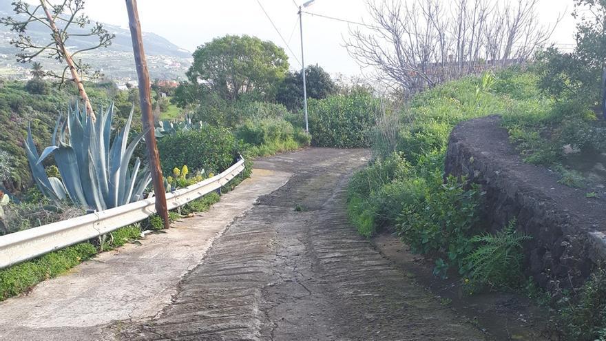 Pista del Barranco de El Espino.