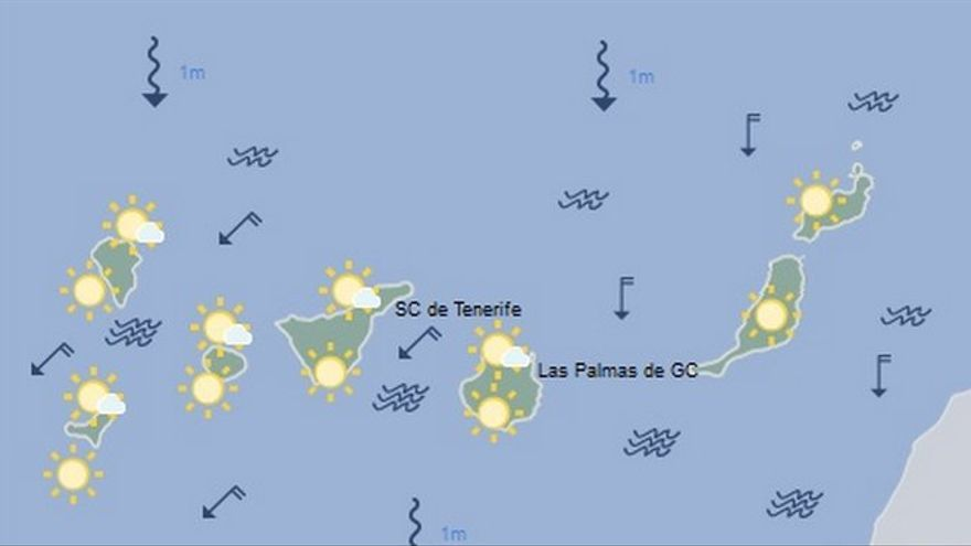 Mapa de la previsión meteorológica para el 26 de julio