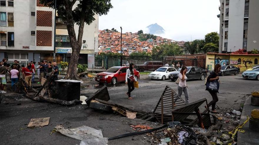 """Los venezolanos sienten """"terror"""" por los excesos de los agentes de orden en las protestas"""
