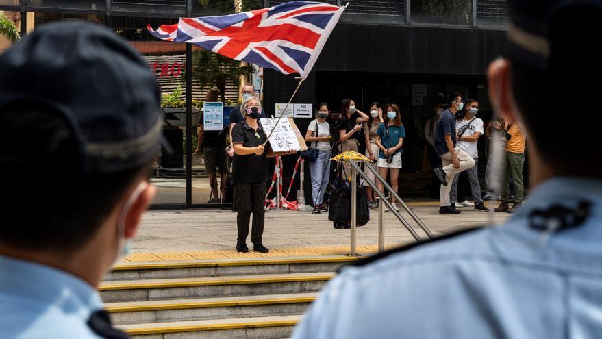 Penas de hasta 18 meses a varios activistas hongkoneses por convocar una protesta