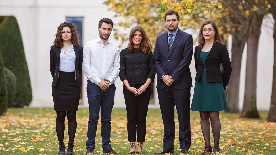 Estudiantes de la UPNA obtienen un premio en una competición de Derecho Tributario Internacional celebrada en Colombia